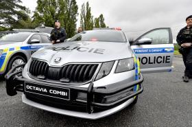 Nový policejní služební vůz