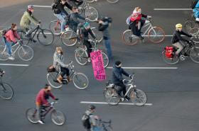Klimatický protest v Berlíně