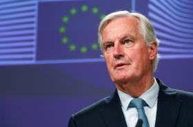 Unijní vyjednavač Michel Barnier