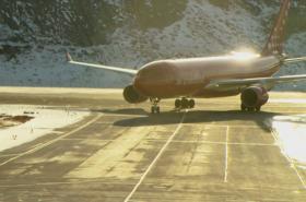 Grónské letiště Kangerlussuaq
