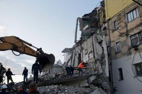 Zemětřesení v Albánii