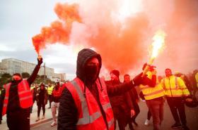 Francouzi stávkují