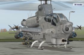 Bojový vrtulník AH-1Z Viper