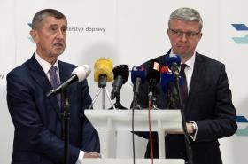 Andrej Babiš a Karel Havlíček