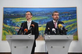 Jiří Šír a Martin Šebestyán