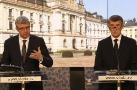 Karel Havlíček a Andrej Babiš