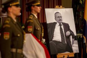 Rozloučení s Jaroslavem Kuberou