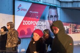 Předvolební kampaň vládního Smeru-SD