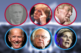 Někteří z uchazečů o kandidaturu na úřad prezidenta USA