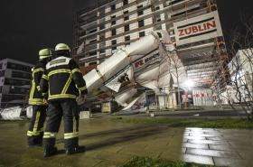 Bouře napáchala škody i ve Freiburgu