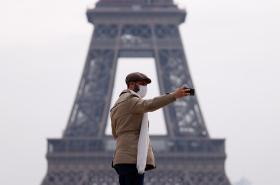 Francie v karanténě