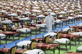 Írán zřídil na dva tisíce lůžek v teheránském centru určeném původně pro výstavy