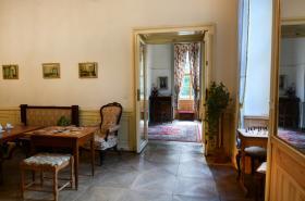 Interiéry zámku Jezeří zpřístupněné veřejnosti