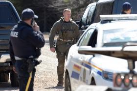 Z policejní zásahu proti střelci v Novém Skotsku
