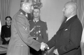 K. H. Frank a Emanuel Moravec (1944)