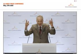 Předseda správních rad automobilky Renault i celé aliance Jean-Dominique Senard