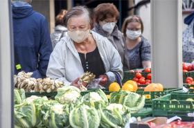 Nákup zeleniny a ovoce