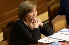 Ministryně financi Alena Schillerová