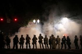 Policie zasahuje v Portlandu