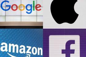 Loga velkých internetových firem