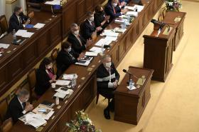 Prezident Miloš Zeman při projednávání rozpočtu ve sněmovně