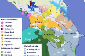 Národy na Kavkaze