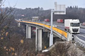 Dálniční most u Velkého Meziříčí