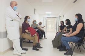 Příprava očkovacích center