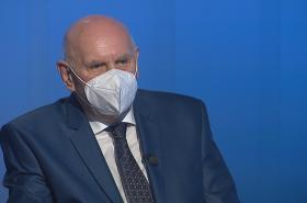 Pavel Rychetský byl hostem Interview ČT24