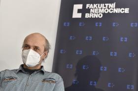 Petr Ryzí jako první v Česku podstoupil buněčnou terapii