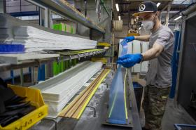 Výroba lyží