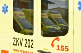 Karlovarská záchranka má nové výjezdové vozy