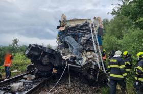 Srážka vlaků na Chodsku