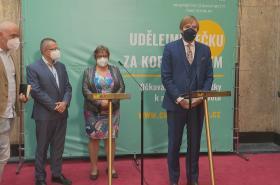 Tisková konference Ministerstva zdravotnictví