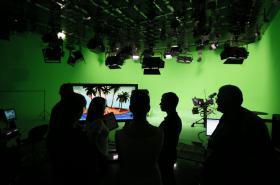 Televizní studio stanice Russia Today