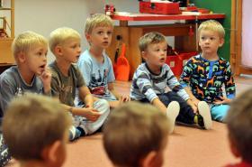 Děti v mateřské škole