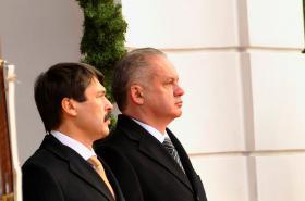 János Áder a Andrej Kiska