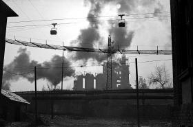 Lanovka z Dolu Zárubek do koksovny Karolina - Ostrava před rokem 1989