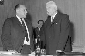 František Kriegel s Ludvíkem Svobodou