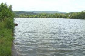 Opuštěné koupaliště Habrovický rybník