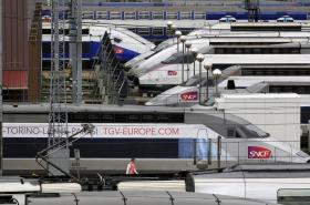 Vysokorychlostní vlaky TGV na své pravidelné spoje nevyjely