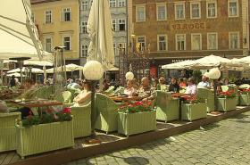 Předzahrádka v centru Prahy