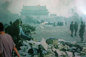 Výstava v Hongkongu o masakru na náměstí Tchien-an-men