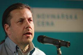 Novinářskou cenu za rok 2013 si odnesl i Dalibor Bártek