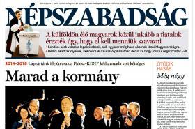 Népszabadság k vítězství Fideszu