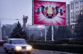 Tiraspol - hlavní město Podněsterské republiky