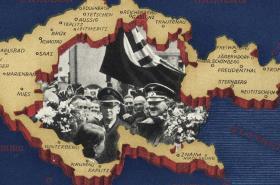 Obsazení Československa: Dobový plakát Děkujeme vůdci