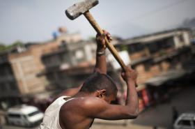 Nepálský dělník