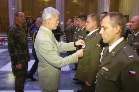 Vyznamenaní vojáci