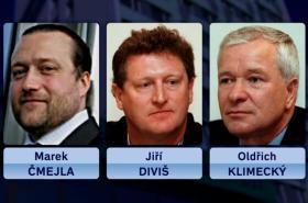Trojice bývalých manažerů MUS